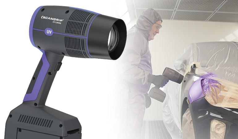 Hand-held UV-GUN for extremely fast curing now in stock