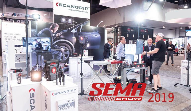 Sneak-peeks and great interest at SEMA 2019