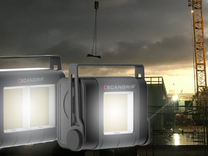 Extremely powerful and flexible SITE LIGHTS