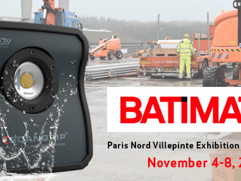 Work lights of the future at Batimat 2019